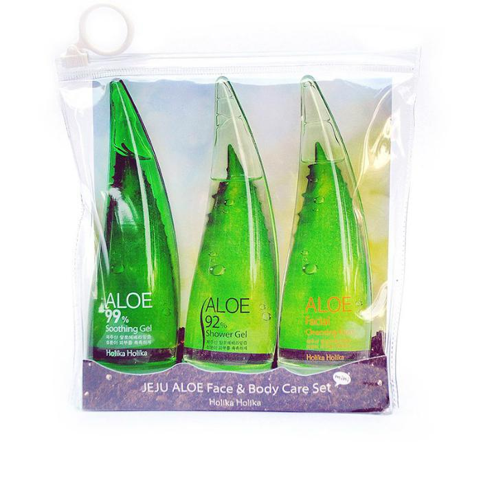 Holika Holika JEJU ALOE Face & Body Care Set