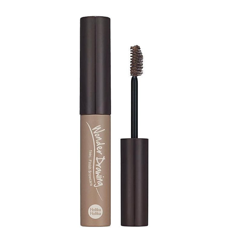 Holika Holika Wonder Drawing 1sec. Finish Browcara 01 Natural Brown
