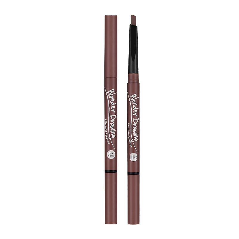 Holika Holika Wonder Drawing 24hr Auto Eyebrow 04 Red Brown