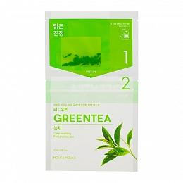 Чай-маска Instantly Brewing Tea Bag Mask Green Tea с зеленым чаем