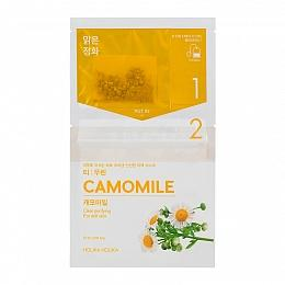 Чай-маска Instantly Brewing Tea Bag Mask Camomile с ромашкой